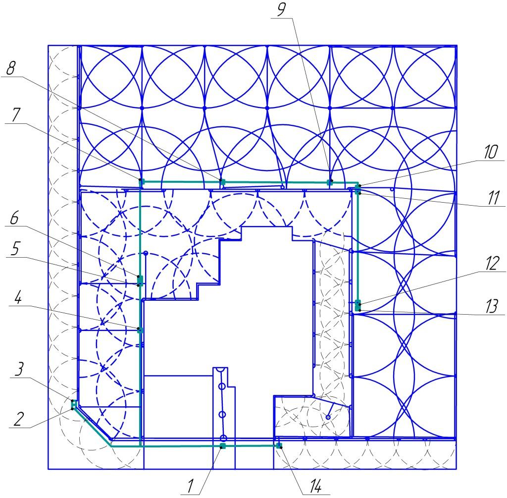 Проект системы автоматического полива №2